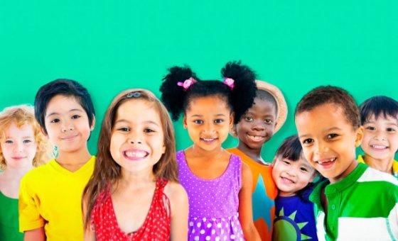 niños alegría